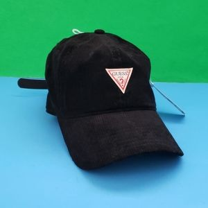 Guess Corduroy Triangle Dad Hat